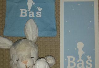 Het geboortekaartje van Mila en Bas