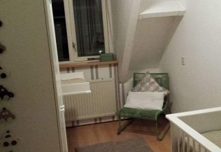 De babykamer van Bas
