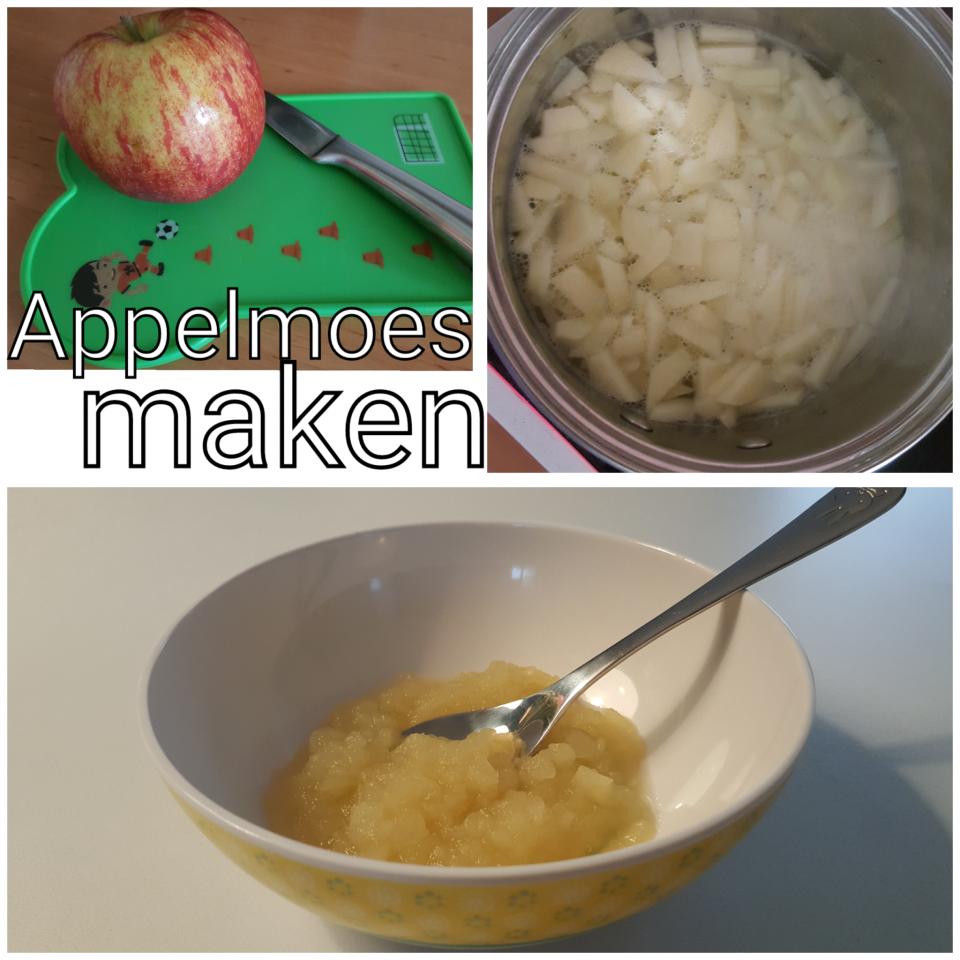 Appelmoes maken met twee ingrediënten