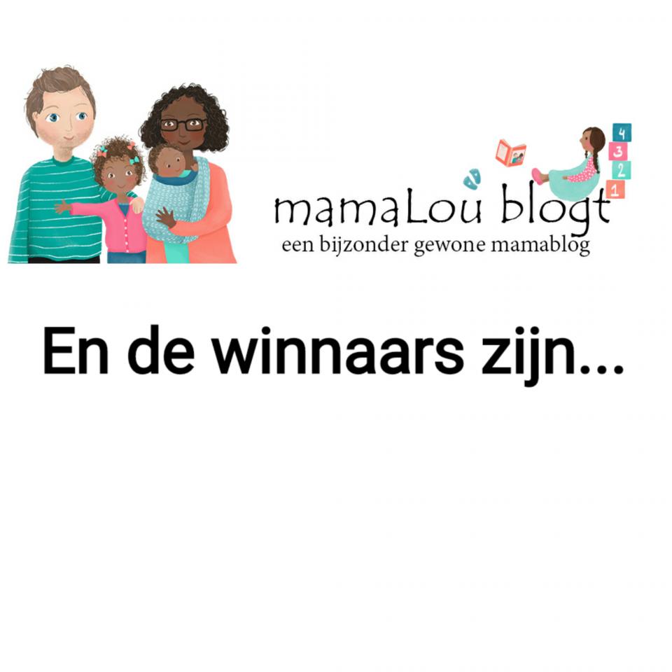 Winnaars winactieweek mamalou blogt