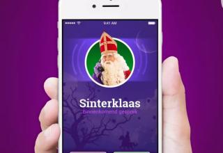 Bellen met en schrijven naar Sinterklaas
