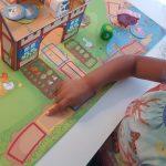 spelletje spelen Etenstijd op de boerderij