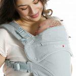 Dragen vanaf de geboorte tot de peuterleeftijd met de Babylonia Flexia soft grey