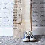 Interieurtip: houten meetlat voor de kinderkamer