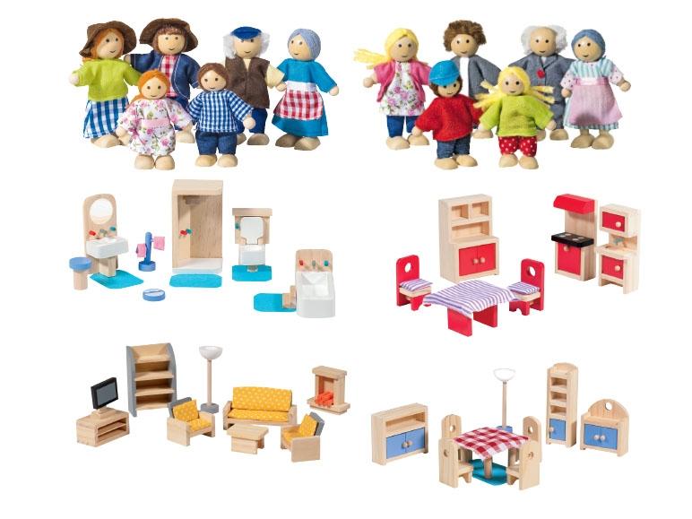 Houten Poppenhuis Poppetjes  Betaalbaar houten speelgoed van lidl mamalou t  Inklapbare houten