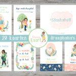 preview babywearing fotokaarten mijlpaalkaarten DraagKaart