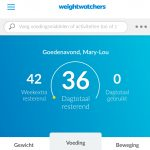 Aangemeld bij Weight Watchers