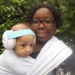 Gehoorbescherming voor kinderen een mooie combinatie met een draagdoek