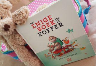 Vakantie voorleesboek: Het Enige Boek in je Koffer. Ook voor thuisblijvers!