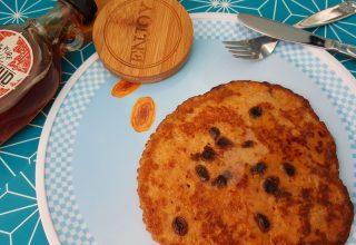 Pompoenpannenkoeken met ahornsiroop | 1 van de 3 p's in een herfstig jasje