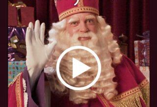 Maak via Postnl een gratis video van Sinterklaas