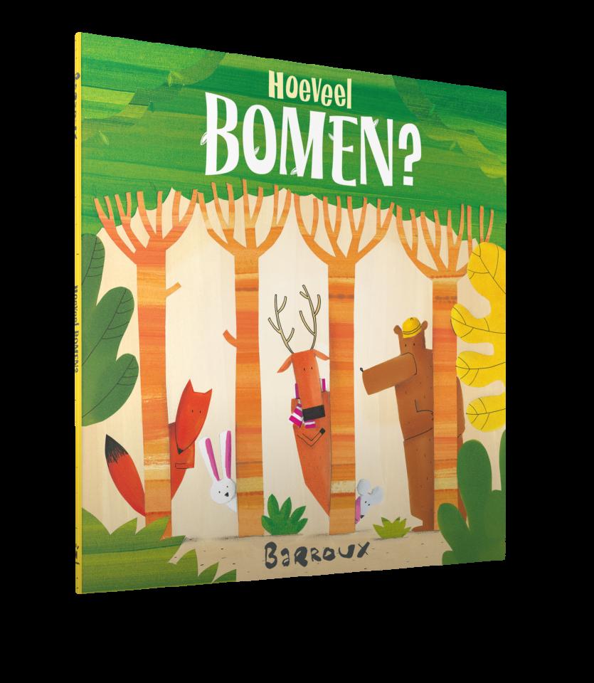Hoeveel bomen?   prentenboek met een mooie boodschap