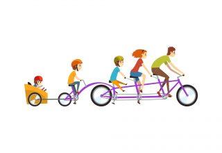 Meerdere kinderen vervoeren zonder auto doe je zo!