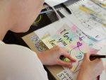 Handletterworkshop in Friesland; ontspanning en gezelligheid