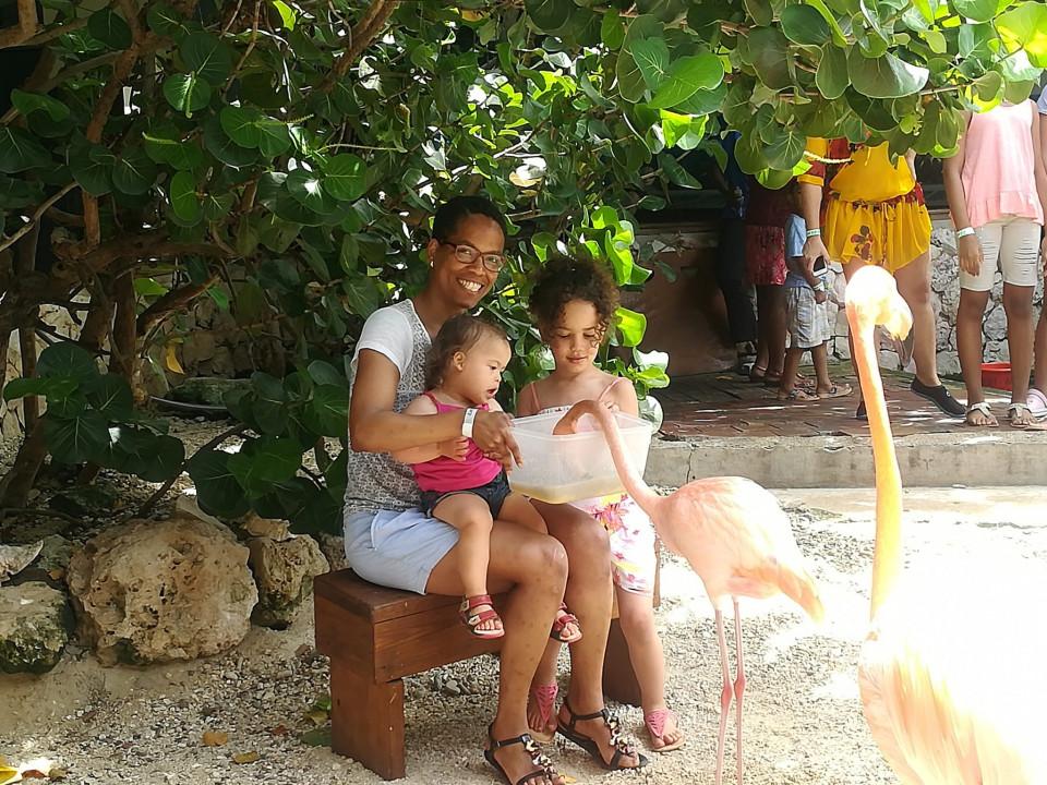 Met kinderen naar Curaçao