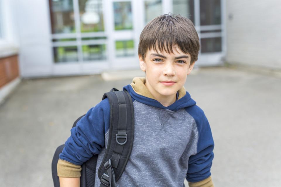 Middelbare school-terreur