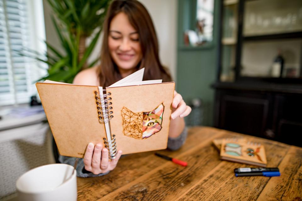 KOMONI houten notitieboek | 8 Days of Christmas