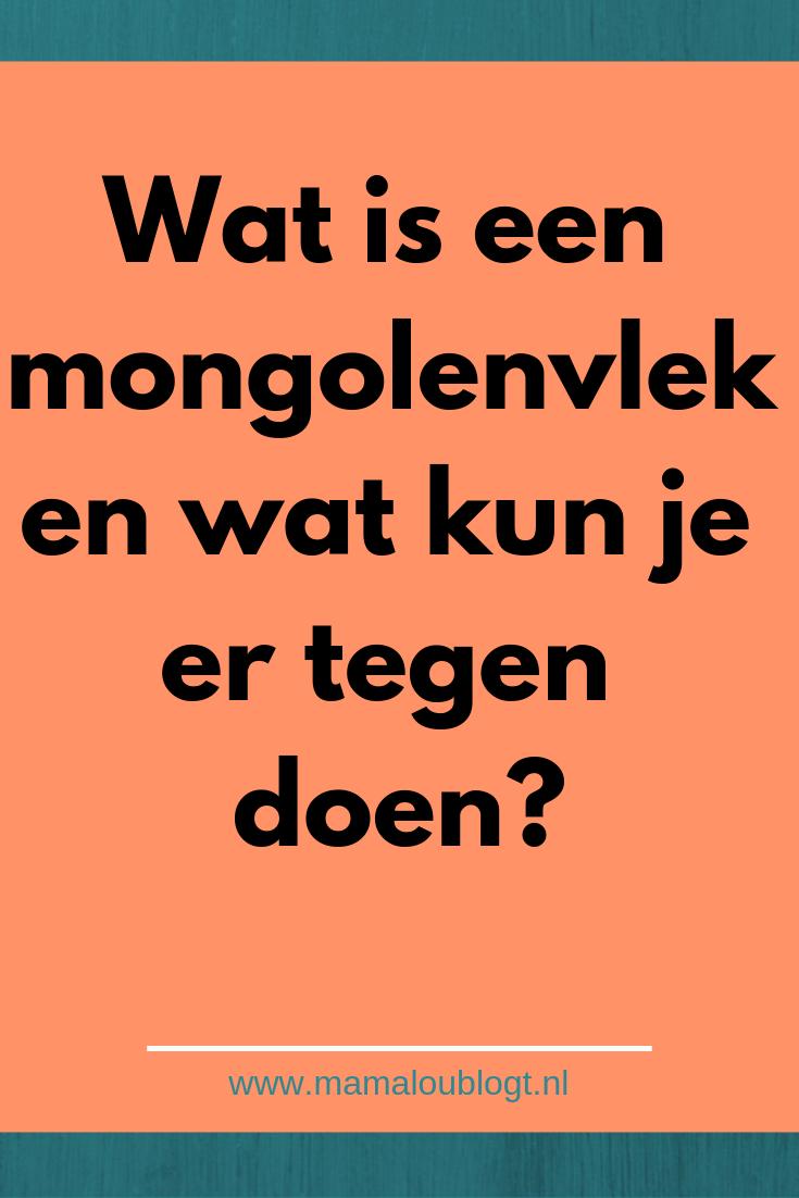 Wat is een mongolenvlek?